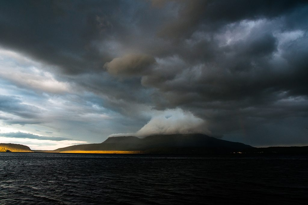 Nouvelle-Zélande - Lac Tarawera #1