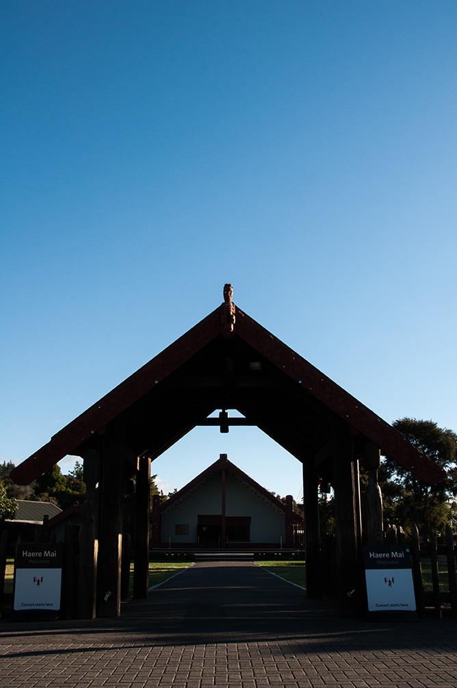 Nouvelle-Zélande - Village Maori