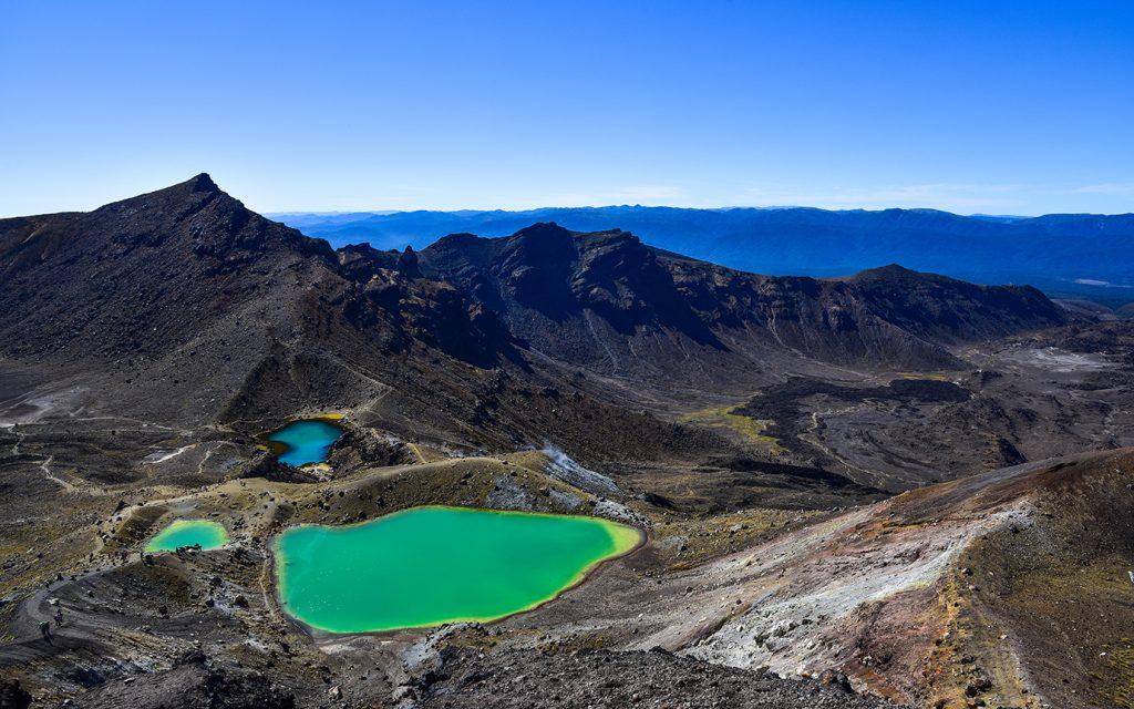 Nouvelle-Zélande - Emerald Lakes