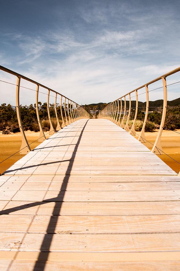 Nouvelle-Zélande - Abel Tasman Bridge
