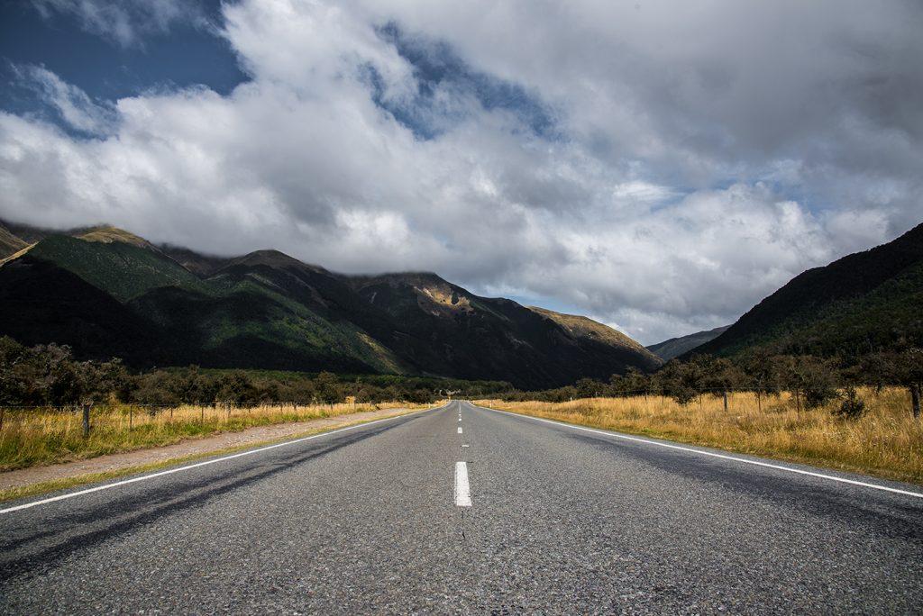 Nouvelle-Zélande - Castle Hill Road #1