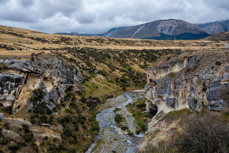 Nouvelle-Zélande - Cave de Castle Hill