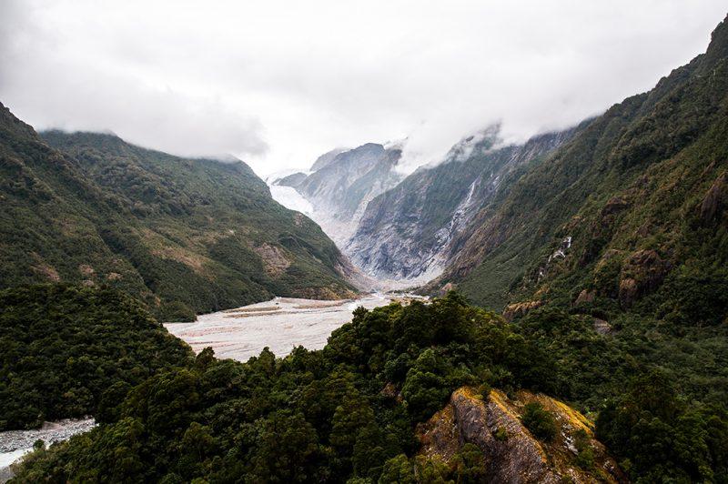 Nouvelle-Zélande - Franz Josef Glacier