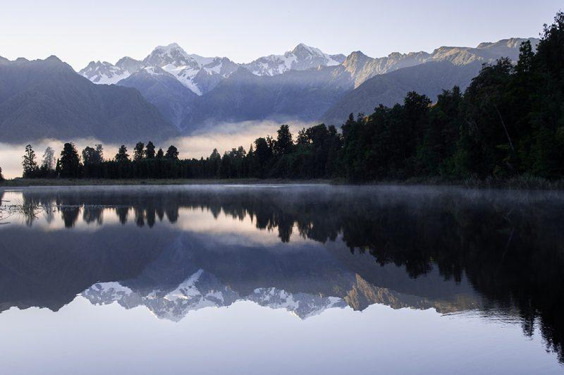 Nouvelle-Zélande - Lac Matheson