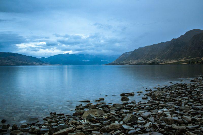Nouvelle-Zélande - Hawea Lake #1
