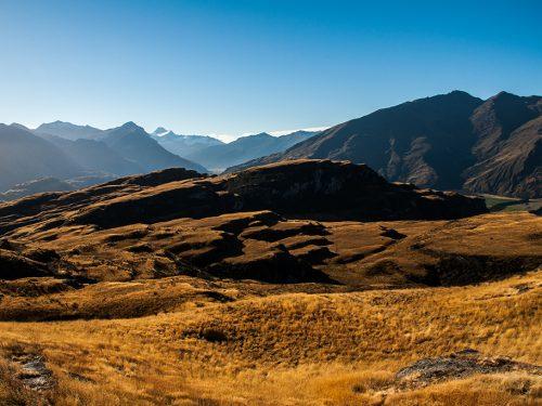 #67 Nouvelle-Zélande – Diamond Lake's Mountains