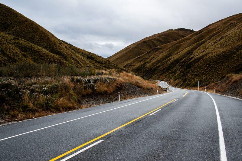 Nouvelle-Zélande - SH73 Road