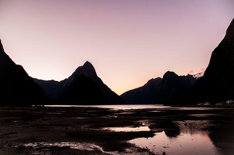 Nouvelle-Zélande - Port de Milford Sound