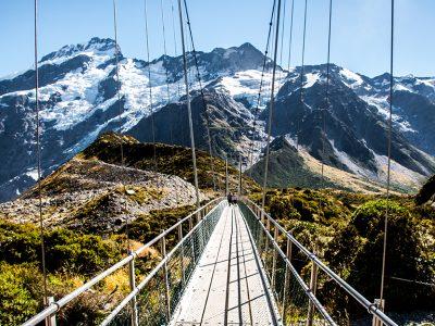 #89 Nouvelle-Zélande – Mont Cook Bridge