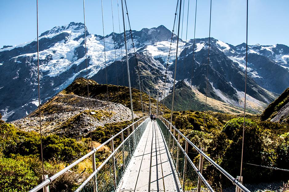 Nouvelle-Zélande - Mont Cook Bridge