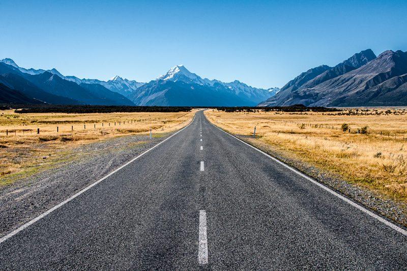 Nouvelle-Zélande - Mont Cook Road