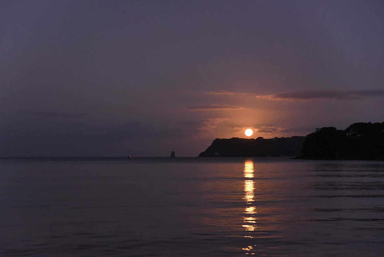 coucher de soleil Nouvelle-Zélande